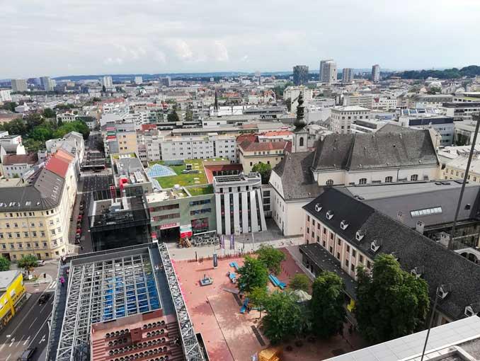 Aug. 2019 - Sinnesrausch in Linz – Sommerausflug für Mitglieder