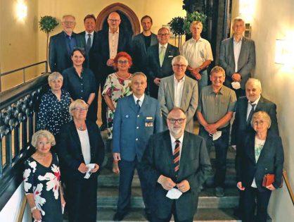 Juli 2021 - Verleihung der Ehrennadel der Stadt Passau