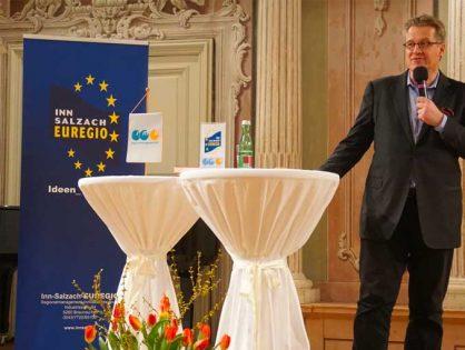 """März 2017  -  EUREGIO Forum  """"Die kleine Eiszeit""""  Schloss Zell a.d. Pram"""