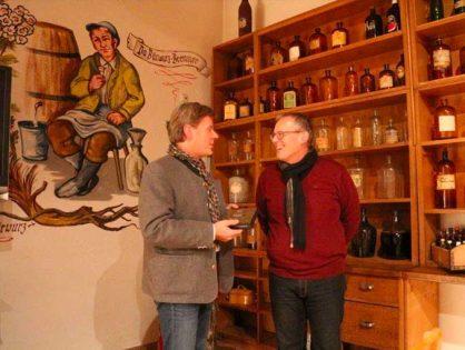 Nov. 2015 - Betriebsbesichtigung Hausbrennerei Penninger