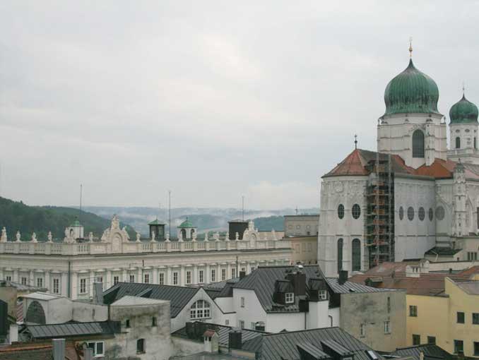 Juli 2014 - Mit Richard Schaffner durch das Stadtarchiv und auf den Rathausturm