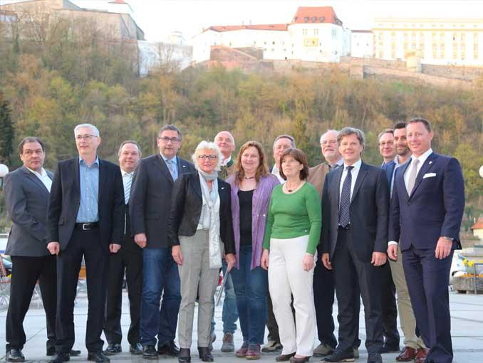 April 2016 - Vorstandschaft beim Bund der Selbständigen Passau neu gewählt