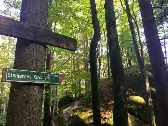 Okt. 2015 - Wanderratschn in den Bayerischen Wald